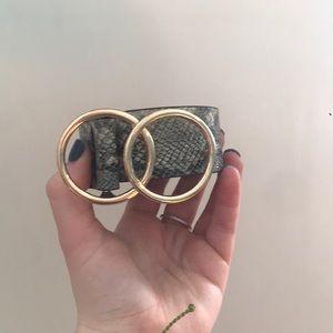 Nasty Gal Accessories - Snakeskin Belt
